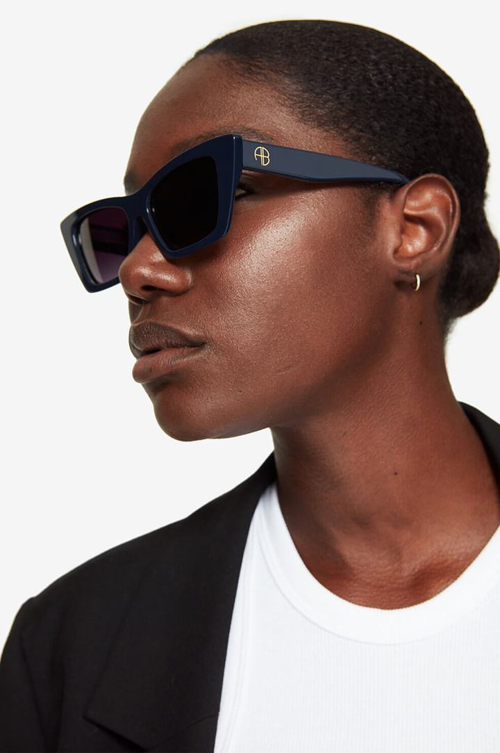 Levi Sunglasses / Navy Womens Anine Bing