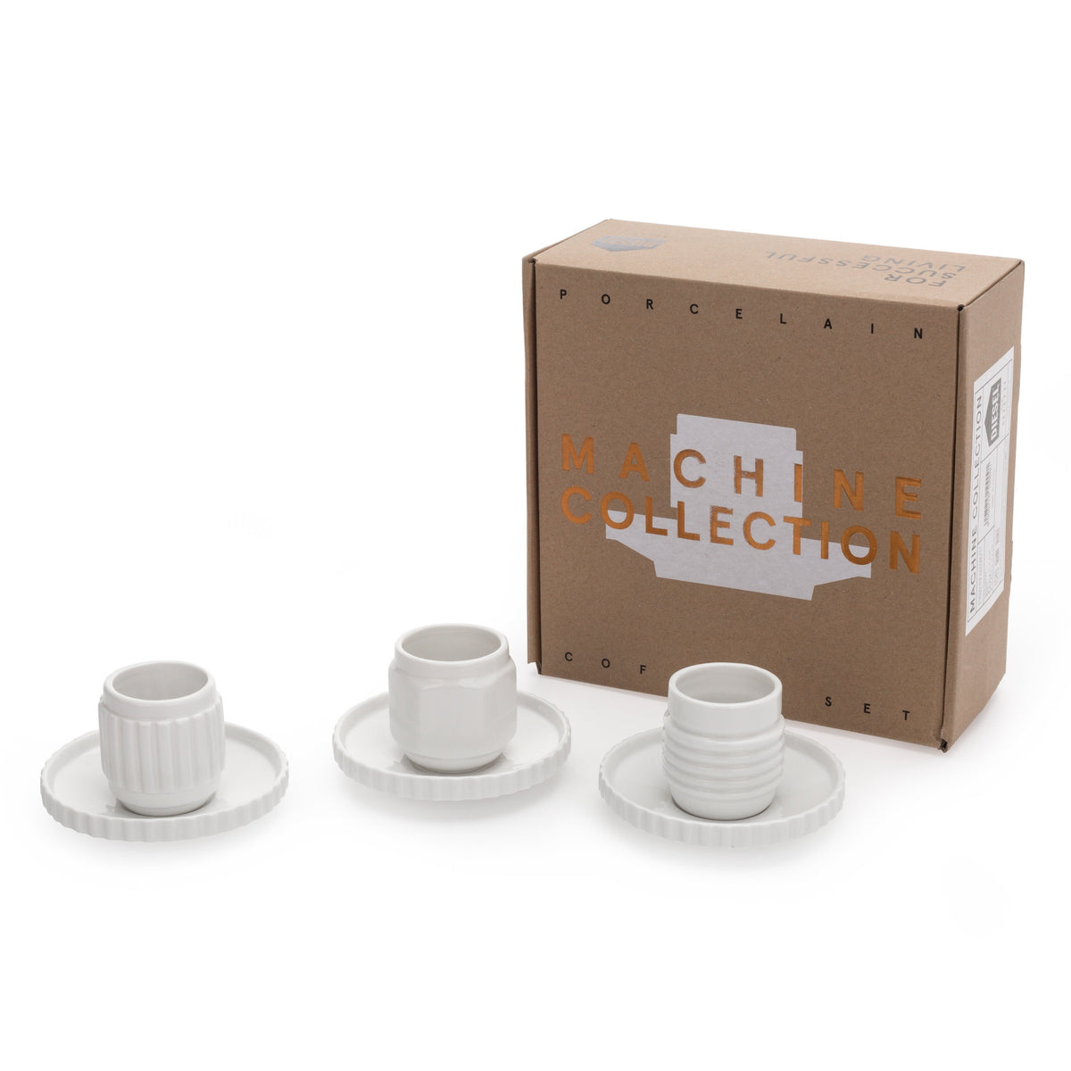 Machine Collection / Coffee Cup / Set Of Three Seletti Diesel living with Seletti