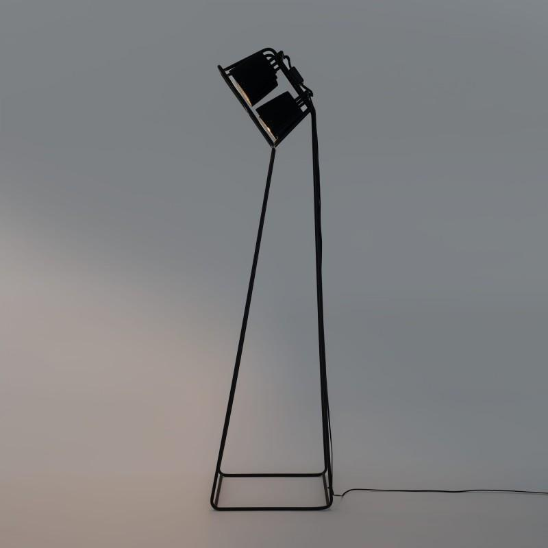 Multilamp / Floor Lamp Black Seletti Seletti