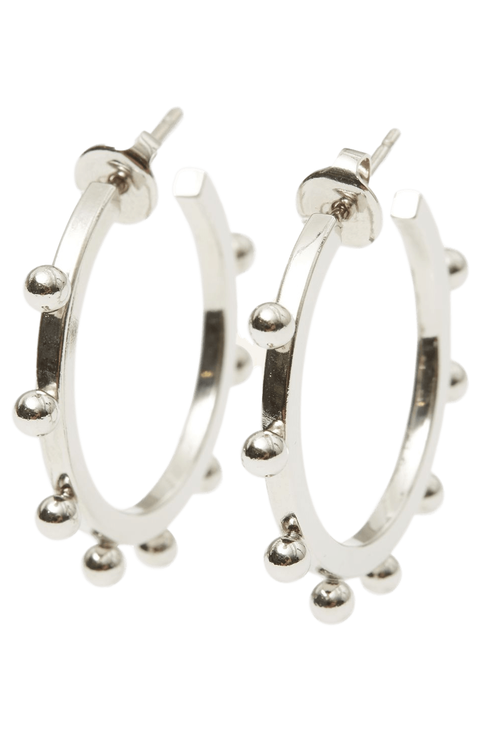 Oh Earrings / Silver Womens Isabel Marant