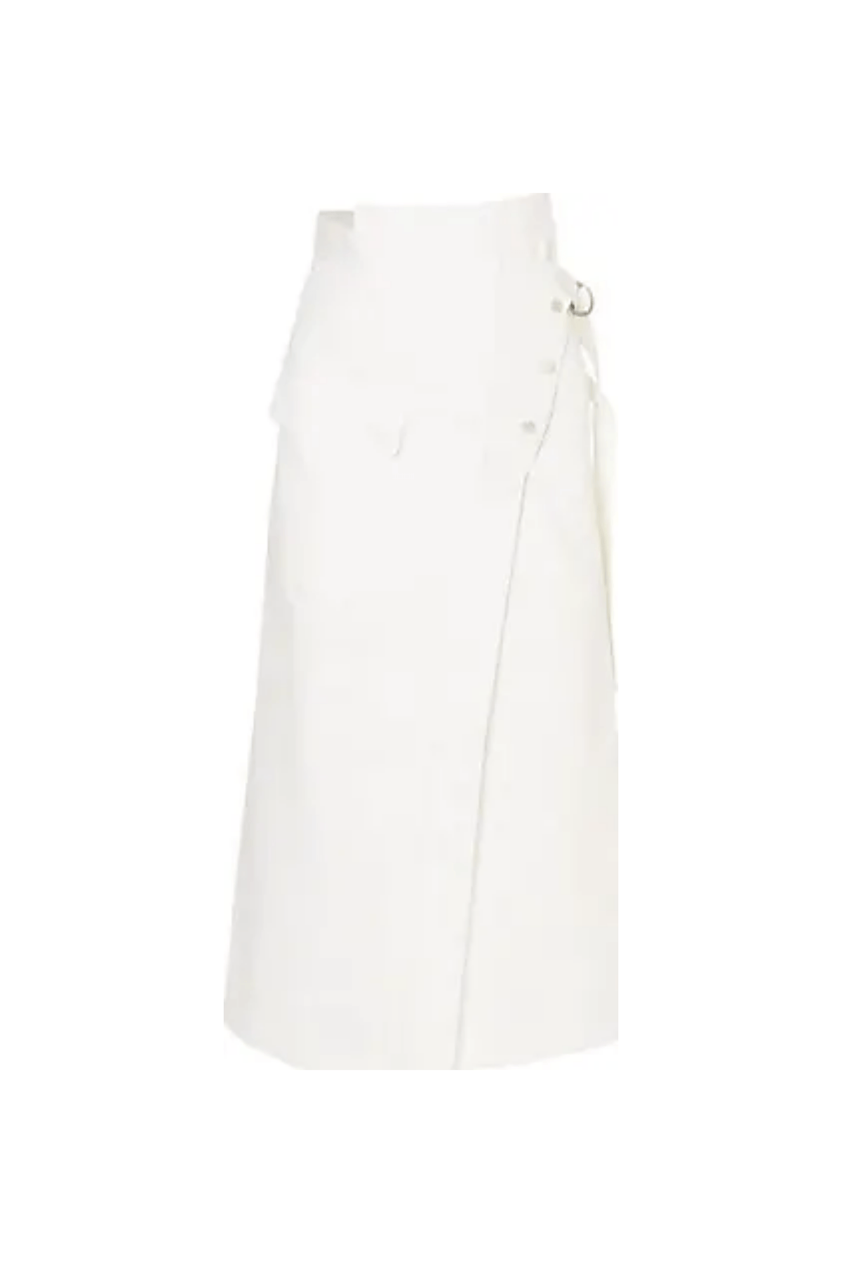 Skirt Linette / White Womens Golden Goose Deluxe Brand