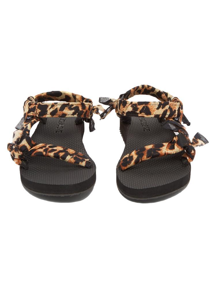Trekky Sandals / Leopard Print Womens Arizona Love