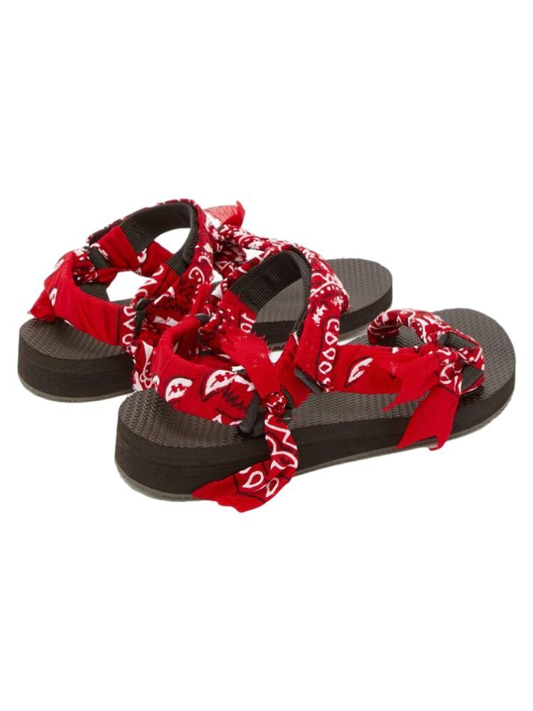 Trekky Sandals / Red Womens Arizona Love