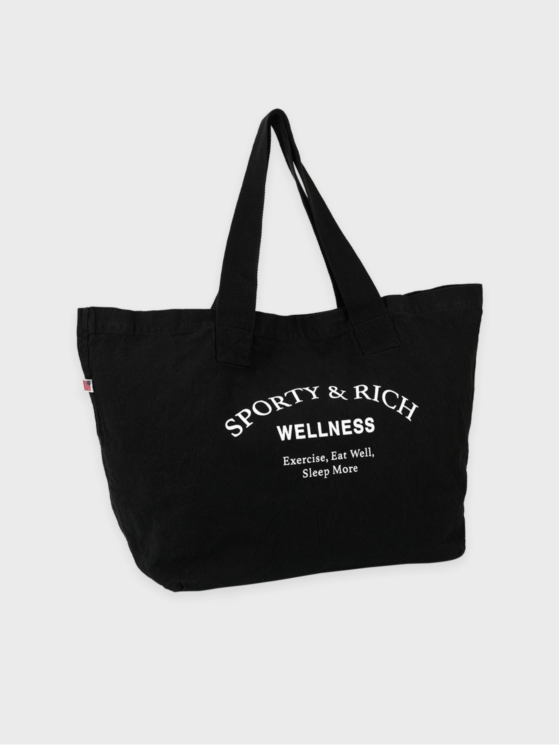 Wellness Studio Tote / Noir Womens Sporty & Rich