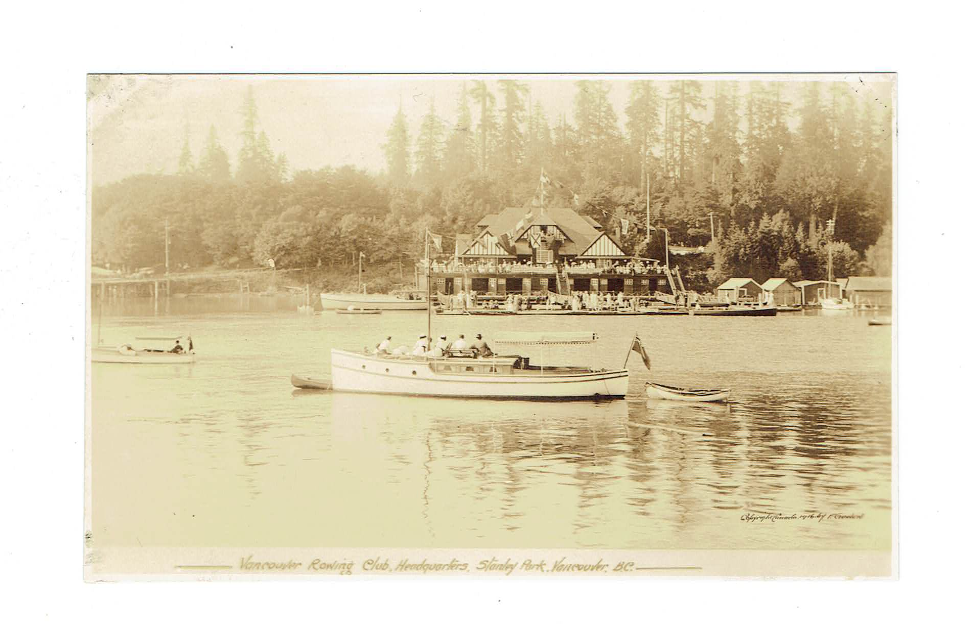 VANCOUVER BC. RPPC ROWING CLUB HEADQUARTERS STANLEY PARK CANADA