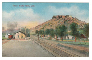 RAILWAY DEPOT Station CO. UNITED STATES. 1910'S.