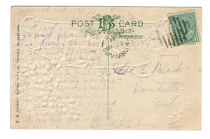 "FORWARD, SASKATCHEWAN.  1911 SPLIT RING CANCEL.  1910=1951 RF ""C"" VINTAGE"