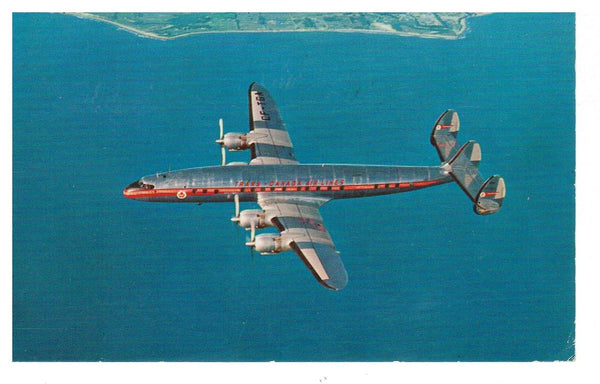AVIATION.  TCA AIRLINES. 1956 POSTCARD CANADA