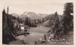 BC. Bella Coola. RPPC Postcard. Tweedsmuir Park. British Columbia, Canada