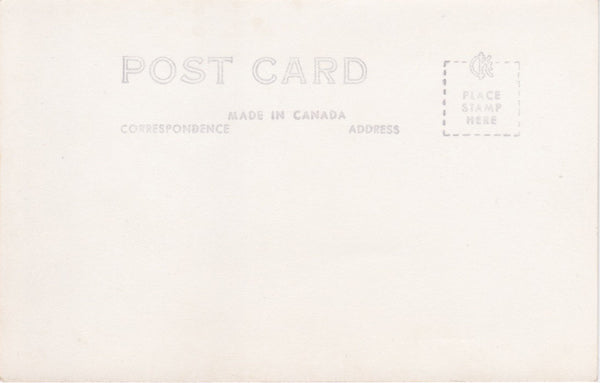 BC. Dawson Creek. RPPC Postcard. Windsor Hotel. British Columbia, Canada