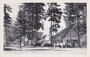 Cultus Lake Park, BC, Dance Hall, RPPC, nd