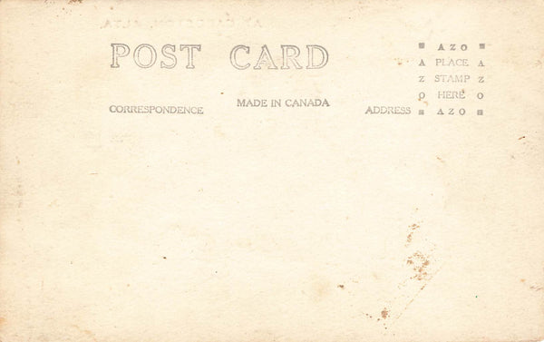 Cardston, AB. Exaggeration Fishing Scene. Postcard. Canada