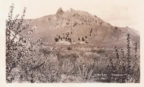 SQUAW SADDLE MINE MERCURY RPPC POSTCARD CHELAN COUNTY WASHINGTON U.S