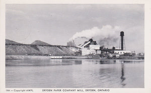 DRYDEN, Ontario, Dryden Paper Company Mill, RPPC, pm 1955