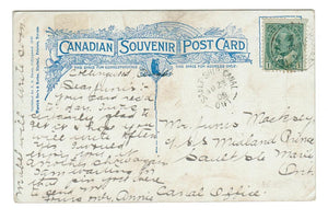 CANCEL SAULT SHIP CANAL, ON.  JUNE 23, 1909.  SPLIT RING (SUMMER OFFICE). Opened May 1909.