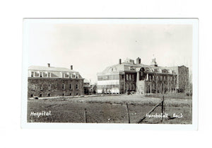 Humboldt, SK. RPPC Postcard. Hospital And Grounds. Canada