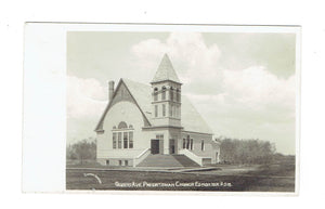 Edmonton, AB. Canada. RPPC Postcard. Queens Avenue Presbyterian Church. Empire Series #518.