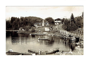 PQ, Sainte-Marguerite-du-Lac-Masson. Lake Side Photo. RPPC Postcard. Canada
