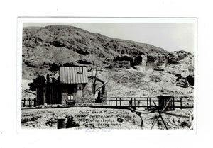 "California Mining Ghost Town ""Calico"". RPPC Postcard. USA"