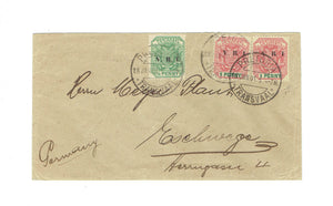 Boer War Cover. 1901 CDS. Pretoria To Germany. VRI Overprints. B/S Eschwege, Germany