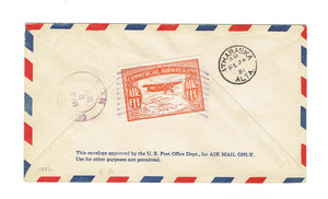 "CL50. Semi Official Airmail Cover. Edmonton To Athabasca. 1931. ""Wop May"". Canada"
