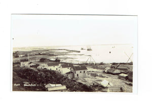 Fort Churchill, MB. RPPC Postcard. Panoramic View. Canada