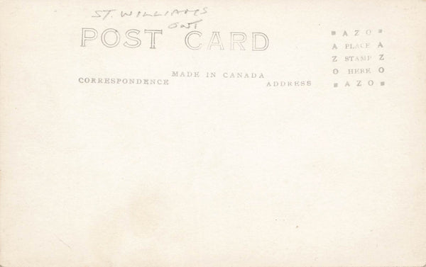 St. Williams, ON. Postcard. Norfolk Forrestry Station Seed Beds. Canada