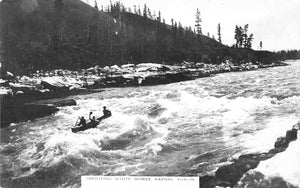 Whitehorse, YT. Shooting The Whitehorse Rapids. Canada Postcard