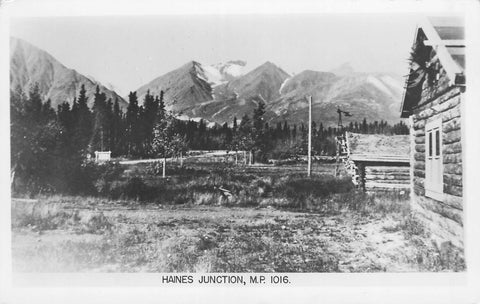 NWT. Haines Junction. M.P. 1016. Gowen Sutton. Postcard. Canada