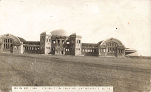 Lethbridge AB. Alberta 1900's Exhibition Grounds. RPPC Postcard. Canada