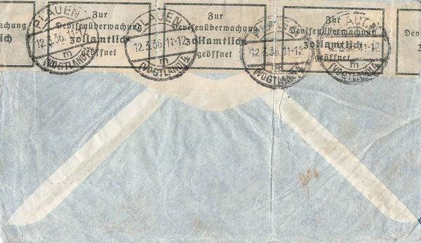 Guatemala Leap Year Air Mail Cover. 1936. To Germany