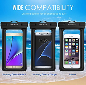 new product 121b3 5969b Floating Waterproof Case, MoKo Universal Dry Bag Pouch