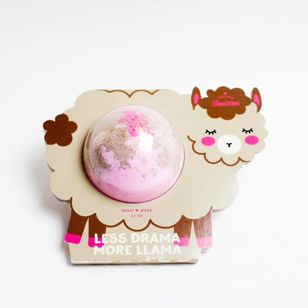 Less Drama More a Llama Bath Bomb