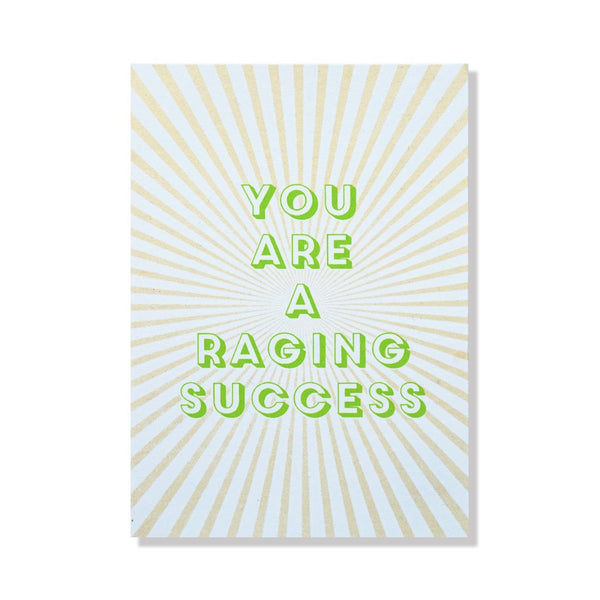Raging Success Card