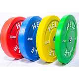 Hele Bumper Plate Stack