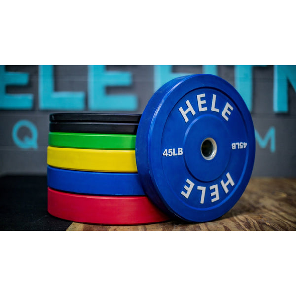 Bumper Plate Stack - Color Plates (370lb) *Pre-Sale, Available for pick up in October*