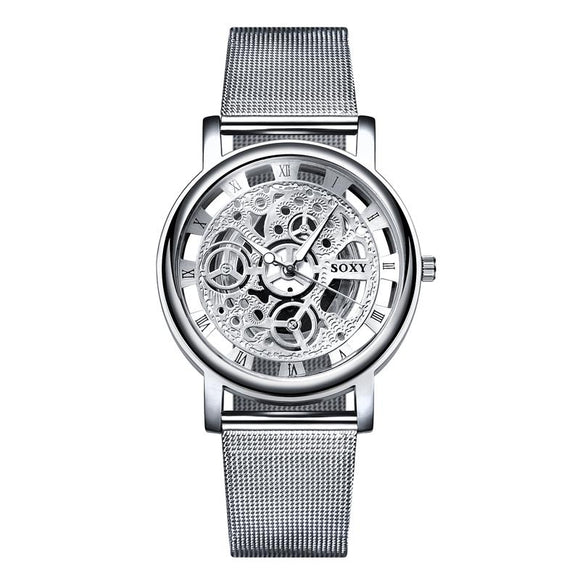 Naked Stainless Steal Watch-Gaviotas Boutique