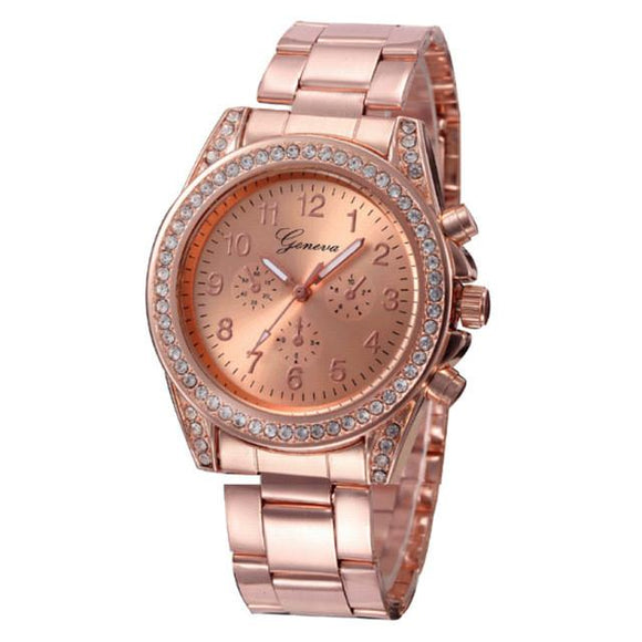 Stainless Steel Fashion Women Watches-Gaviotas Boutique