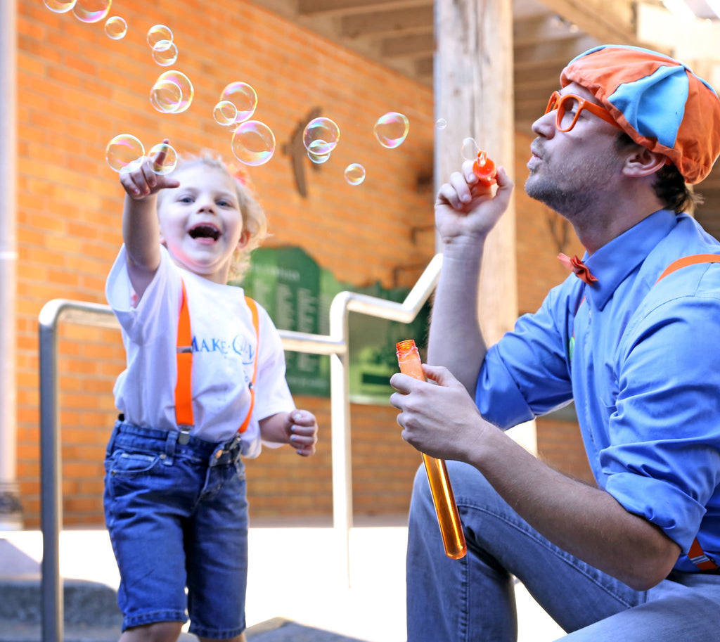 Make-A-Wish Flies 4-year-old to go to the zoo with her hero, Blippi