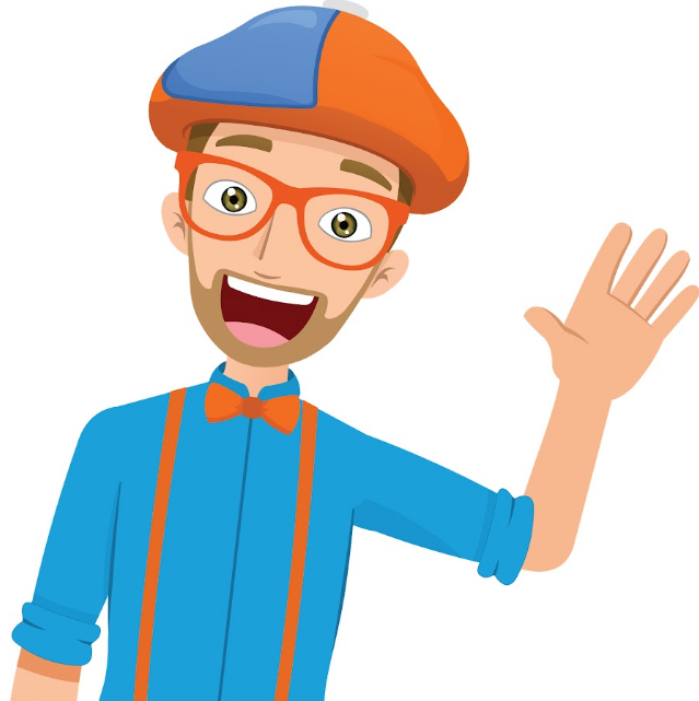 Blippi Named #2 in Top 30 Kids Learning YouTube Channels