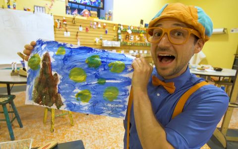 Blippi art for kids by Stevin Walter John