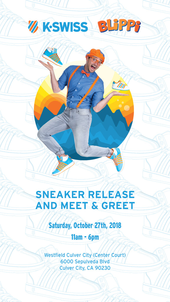 Blippi K-swiss shoes