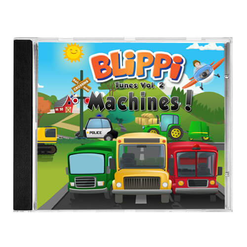Blippi Tunes Vol. 2 – Machines!