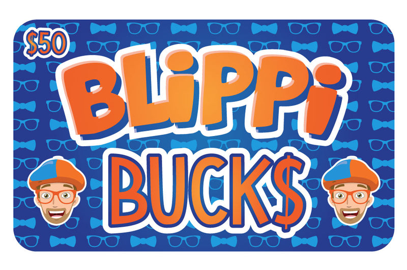 Digital Blippi Bucks Gift Card
