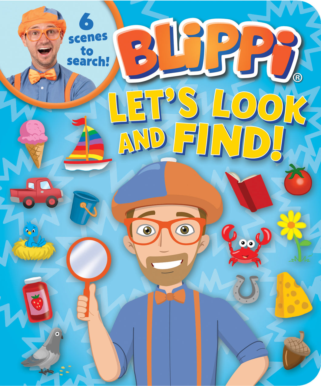 Blippi: Let's Look and Find! Book
