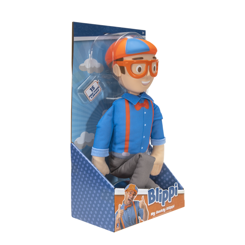 Blippi Feature Plush with Sounds