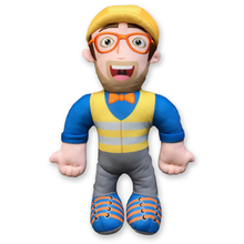 Load image into Gallery viewer, Blippi Construction Plush Doll - 13 Inch.