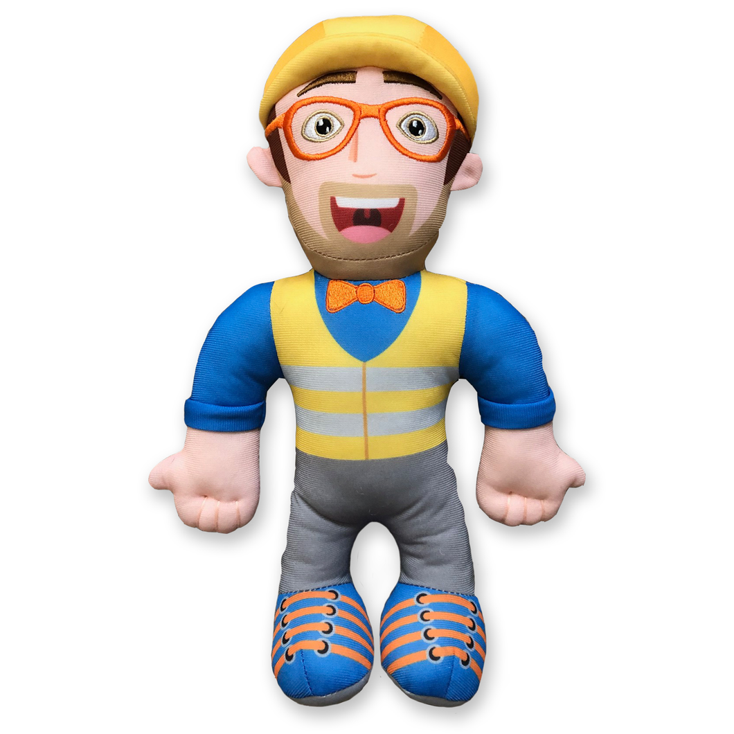 Blippi Construction Plush Doll - 13 Inch.