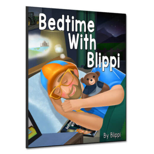 Bedtime With Blippi – Children's Book