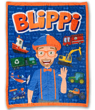 Load image into Gallery viewer, Blippi Blanket